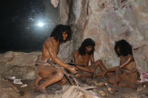 Cave people stock by joelshine-stock