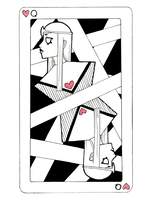 Queen of Hearts by surrealtoons