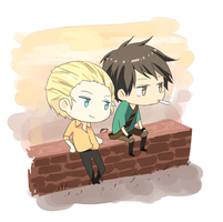 gregory and christophe by azngirlLH