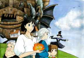 Howl's Moving Castle by Poppysleaf