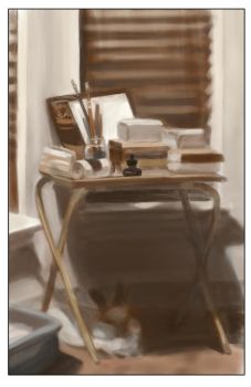 Bedroom study small by TheMightySmoosh