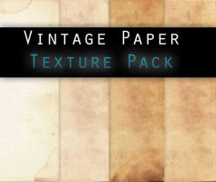 Vintage paper TEXTURE PACK by Knald by Cherryrum