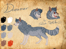 Dreamer Character sheet by StanHoneyThief