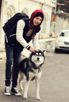 with dog cute one by leehaneul