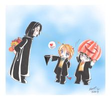 Harry Potter-Trick or Treat by Kairei