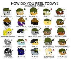 How do you feel today? by FirstAwesomePlatoon