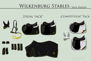 Wilkenburg Stables Tack by Tigra1988