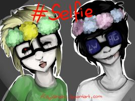 Creepypasta: Ben Drowned and Jeff The Killer by KittyKahlohr
