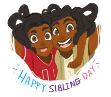 Happy National Sibling Day!!! by Dream-Piper