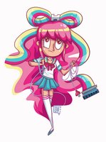 Midnight Art: Giffany by bluevioletowl