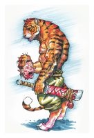 Tiger Markers by AlexAlexandrov