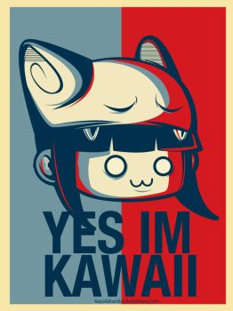 YES IM KAWAII by kepalakardus