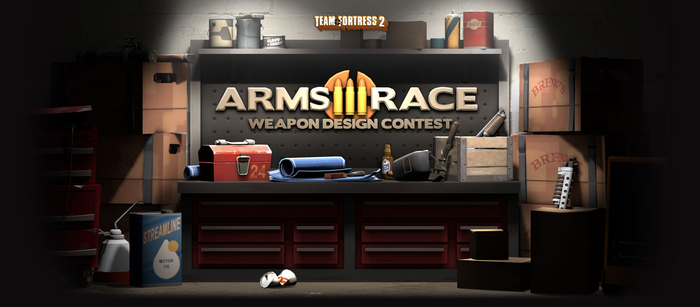 Team Fortress 2 Arms Race by RobinOlsen2011