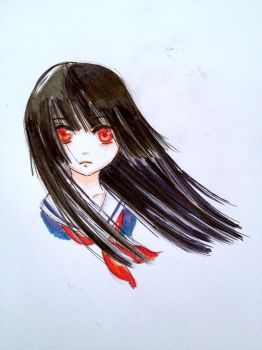 Enma Ai by TwinOfTwins