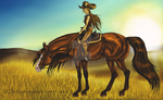 The Journey To Come - Outlaw Trail by DarKestcreagirl