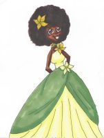 Tatiana With The Fro by TheLuckyStarhopper