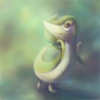Snivy by CrystalCeo