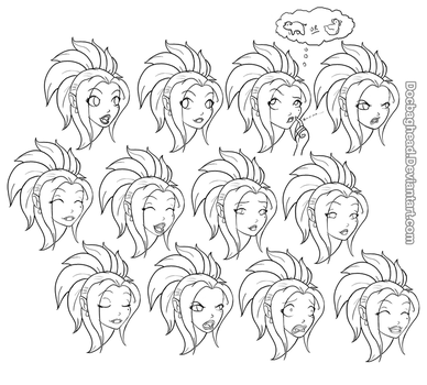 Angelesti expressions by DocBaghead