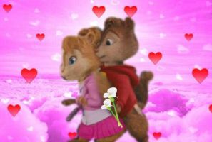 alvin and brittany sweet moments by alexandrta