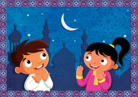 Ramadan Greeting card by hanno