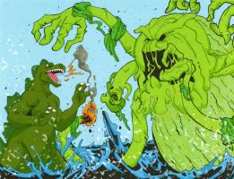 KMAC For July 2013: The Seaweed Monster by rebis