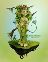Forest creature by Sedeptra