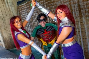Otakon 2015 - Teen Titans GO!(PS) 17 by VideoGameStupid