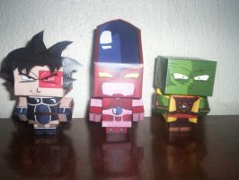 turles lord slug y hatchyack CUBEECRAFT by tenchaos