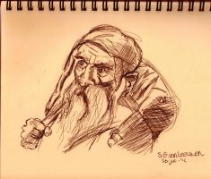 The Hobbit Speedsketch by SarahMinishCap