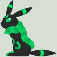 Scarfed Green Umbreon Nedesia by Sey-Sey