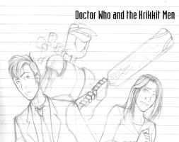 Doctor Who and the Krikkitmen by SarcasticFox