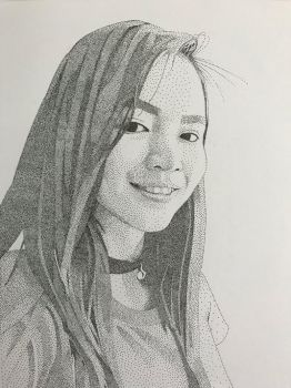 Stippling-Commission 1 by azfacer