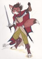 Fox Rogue by LordFenrir