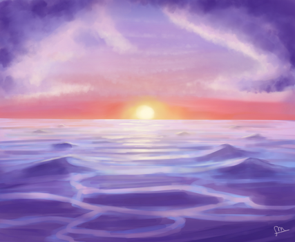 Tranquil Ocean by ForeverMuffin