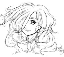 Hair Doodle by Thesis-D