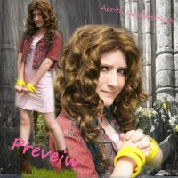 Aerith Cosplay preveiw by Fiftyshadesofkay