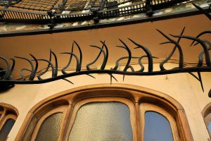 Casa Batllo interior detail 1 by wildplaces