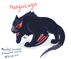 Narga baby by TheAsinineCanine