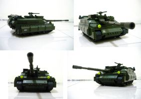 Lego APC to Tank!! (2.2) by SOS101
