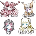 :COM: Headshot 1st Batch by AngelicsMana