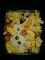Bento Box: Olaf (Frozen) by Erufu-Elda