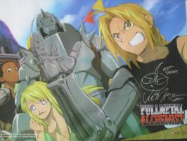 FMA Wall scroll by ForeverFrosty