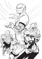 Hordak's time in Doubt INK by Khenmes