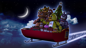 [SFM FNAF]- Christmas by Dafomin