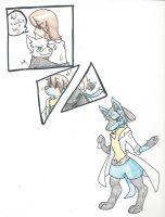 Lucario scientist by RaiinbowRaven