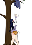 Hinata pantsed comission by the-killer-wc