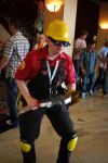 TF2 Red Engineer Anime Matsuri by Aeros15