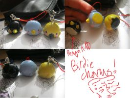 Birdie charms by Kechuppika
