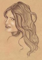 Portrait Commission Seher by BasakTinli
