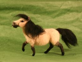 Poseable Needle Felted Pony by Sofakitty